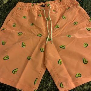 Avocado pink shorts